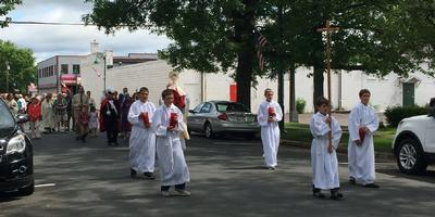 Eucharistic Procession 2015